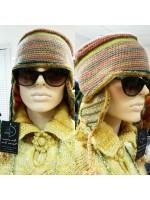 Шерстяная шапка в скандинавском стиле