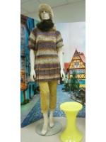 Платье шерстяное в стиле бохо