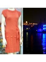 Элегантное шерстяное вязаное платье на любой случай